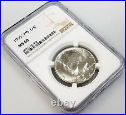 1966 SMS Kennedy Half Dollar certified MS 68 by NGC