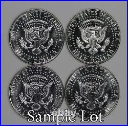 1966 Sms Kennedy Half Dollar Gem Bu Brilliant Unc Full Roll 20 Coins