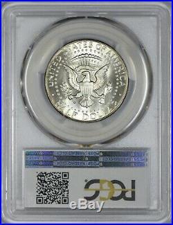 1967 Kennedy Half Dollar PCGS MS67+ TOP POP QA GOLD TONING