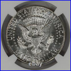 1968 D Kennedy Half Dollar 50c Ngc Ms 64 Pl Mint State Unc Proof-like (040)