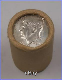 1968 D Kennedy Half Dollar Roll 40% Silver OBW 20 Coins