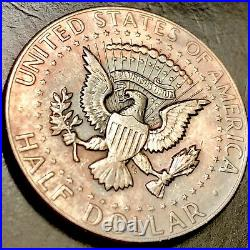 1969 D Kennedy Error Half Dollar Beautiful Tone Excellent Luster DDR 001