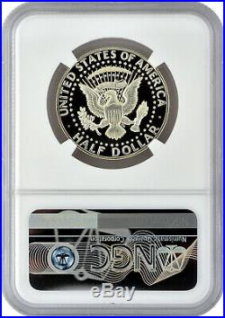 1969 S 50C Proof Kennedy Half Dollar NGC PF 69 Ultra Cameo