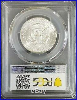 1970-D Kennedy Silver Half Dollar, PCGS MS66, Blast White