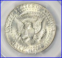 1970-D PCGS MS66 Gem Uncirculated Silver Kennedy Half Dollar PQ BU Flashy White