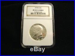 1970-S Kennedy 40% Silver Proof Half Dollar, NGC PF69 Cameo (star)