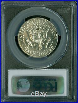 1970-d Kennedy Half Dollar Pcgs Ms-66 Pq 2nd Finest Grade Rare Mac Spotless