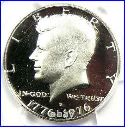 1976-S Proof Silver Kennedy Half Dollar 50C PCGS PR70 DCAM (PF70) $750 Value