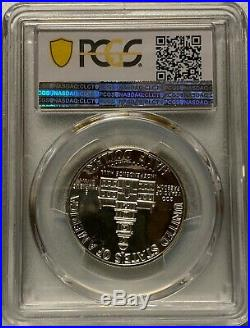 1976 S Silver 50C Bicentennial Kennedy Half Dollar PCGS PR70 Ultra Cameo
