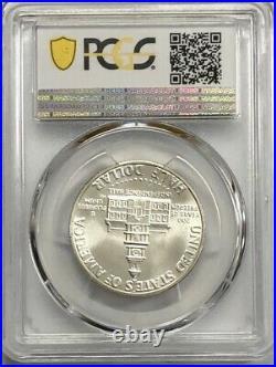 1976-s Silver Kennedy Half Dollar Pcgs Ms68