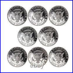 1992-1999 S Kennedy Proof Half Dollar 90% Silver Proof Run Gem Deep Cameo