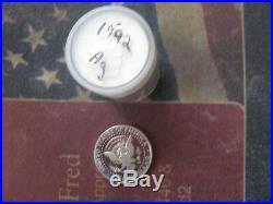 1992-S KENNEDY SILVER HALF DOLLAR ROLL (20)VERY NICE COINS #af