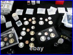 1992-S thru 1998-S Gem Proof Silver Kennedy Half Dollar 7pc Set
