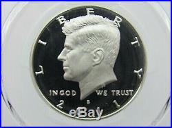 1992 To 2011 S Silver Kennedy Half Dollars PCGS Pr 70 Dcam, Matching Blue Labels