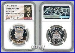 1994 S Silver Kennedy Half Dollar 50c Ngc Pf 70 Ultra Cameo R8