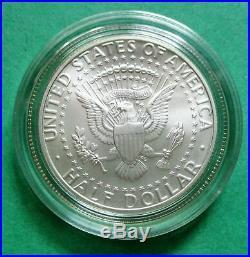 1998-S JOHN F. KENNEDY MATTE SILVER HALF DOLLAR IN ORIGINAL MINT CAPSULE 50c