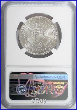 1998 S Kennedy NGC JFK SP70 John Kennedy 50C Matte Silver Specimen Proof 70