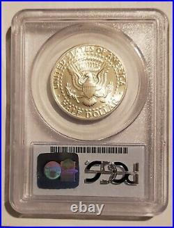 1998 S Silver Kennedy Half Dollar PCGS MS69 SMS Matte