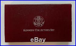 1998 Silver Kennedy Collector's Set 2pc RFK $1 / JFK Half Commemorative