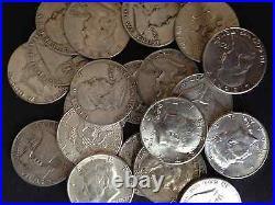 1/2 Troy Pound Lb Kennedy & Washington 90% Silver Coins Us Mint One Half Lb Lot