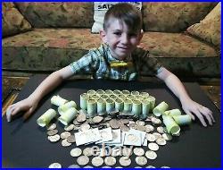 1 Box 50 Roll Kennedy Half Dollars un-Search $500 Face Value
