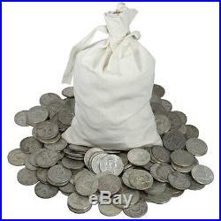 1 Troy Pound Lb Bag 90% Silver Kennedy Halves Coins U. S. Minted Pre 1965 1