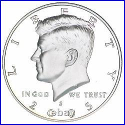 2000-2009 S Kennedy Half Dollar 90% Silver Gem Deep Cameo Proof Run 10 Coin Set