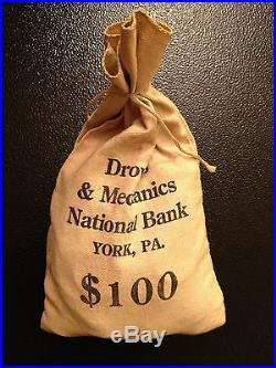 200 Coin Lot 2x Silver 90% 40% 1971 1972 1973 PD Kennedy Half dollar Vintage Bag