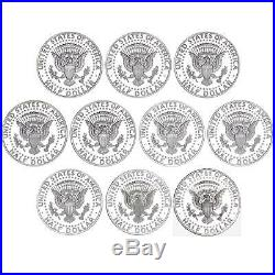 2010-2019 S Kennedy Half Dollar 90% Silver Gem Deep Cameo Proof Run 10 Coin Set