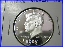 2011 S 2012 S 2013 S 2014 S 2015 S SILVER PROOF KENNEDY HALF (5) Coins