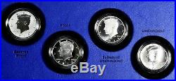 2014 50th Anniversary Kennedy Half Dollar Silver Coin Collection 4 Coin Set