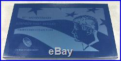 2014 50th Anniversary Kennedy Silver Half Dollar Set free ship