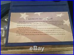 2014 Kennedy 50th Anniversary Silver Half Dollar Coin Set OGP Box & COA