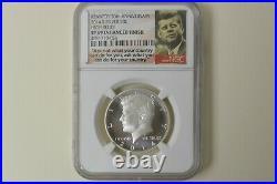 2014 Kennedy Half Dollar 4 Coin Silver Set-ngc Pf69-sp69