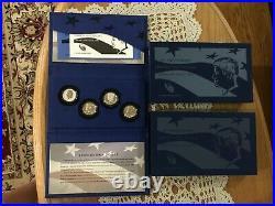 2014 Kennedy Silver Half Dollar 4 Coin 25th Anniversary Set As Issued Bin Free