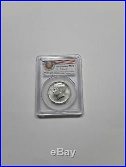 2014 P D S W silver kennedy half dollar 50th anniversary set PCGS70 ER