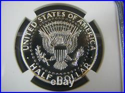 2014 S Kennedy Half Dollar Enhanced Finish 4-coin 50th Ann. Set Sp 70 PL En Fin