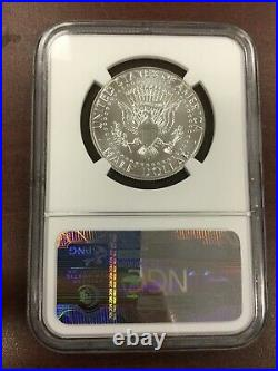 2014 Silver Kennedy 50th Anniversary Set High Relief Ngc Sp/pf69 Early Releases