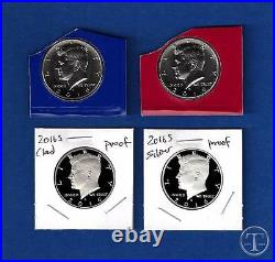 2016 PDSS BU, Clad AND Silver Proof Kennedy Half Dollar Set-P D From Mint Set