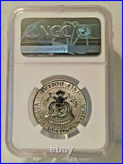 2018 S Trolley Silver Kennedy Reverse Proof First Day of Issue FDI NGC PF70