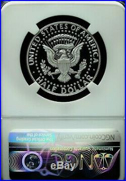 2019 S NGC PF 70 UCAM. 999 Silver Kennedy Half Dollar Early Release-Signature