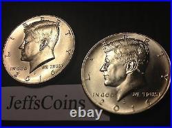 2020 P D S S Kennedy Half Dollar 2x Biz Strike + 99.9% Silver & Clad Proof PDSS