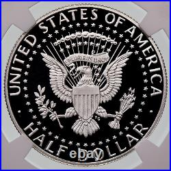 2020-S. 999 oz Silver Kennedy Half Dollar First Day of Issue PF70 Ultra Cameo