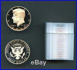 2020 S SILVER Proof Kennedy Half Dollar 99.9% Silver Roll 20 pieces - PRESALE