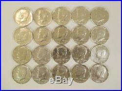 20 1964 Kennedy 90% Silver Half Dollars