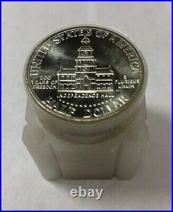 20 1976 S Kennedy Silver Half Dollars BU Brilliant Uncirculated Roll of 20