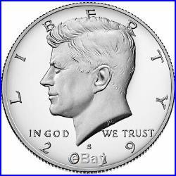 (20) 2019 S Kennedy SILVER Half Dollar, Perfect Gem Proof 99.9 SILVER +