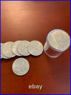 20 Kennedy Half Dollars 1964, 90% Silver Coin Lot, UnCirculated, One Full Roll