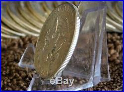 20 X 1964 US Kennedy 90% Silver Half Dollar Roll of 20 Coins Bullion