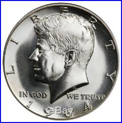 20 count roll of 1964-D GEM BU 1964 90% Silver Kennedy Halves